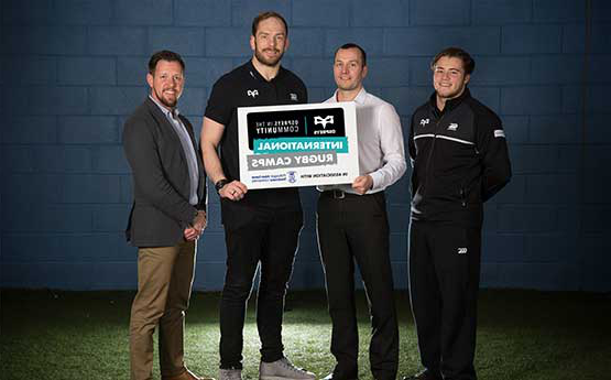 The group tasked with bring the Osprys and Swansea University Rugby Camps partnership to life