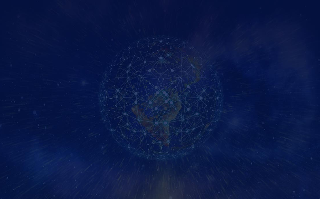 the globe with connections across the world