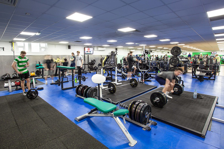 indoor gym facilities
