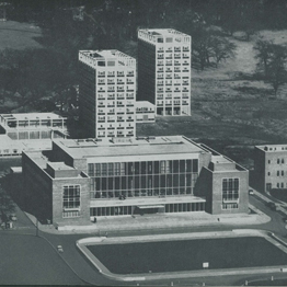 1960's image of Fulton House (College House)